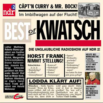 CD Best of Kwatsch - NDR 2 & Selected Comedy